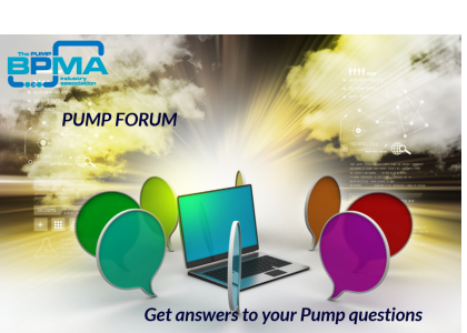 Pump Forum Looking For Answers?